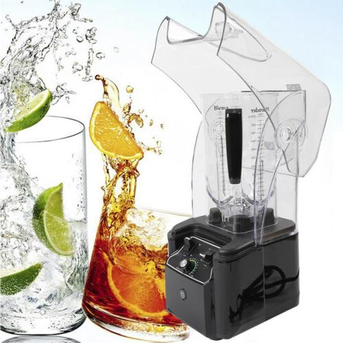 Soundproof Cover Blender Mixer Juicer Commercial Ice Crusher