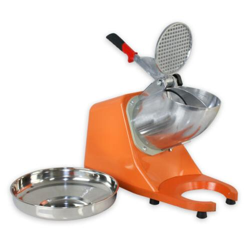 Tabletop Electric Crusher Machine Shaved Icee Snow Cone