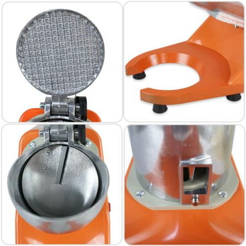 Tabletop Electric Ice Machine Shaver Icee Snow Maker
