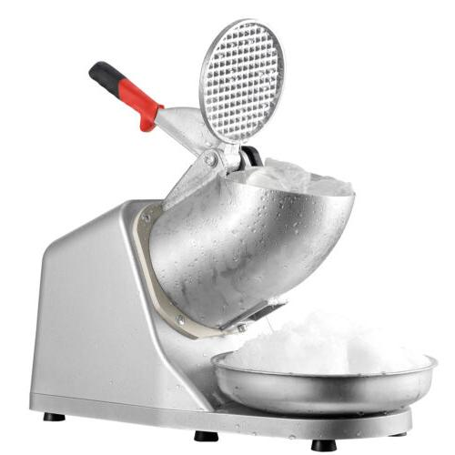 tabletop electric ice crusher machine