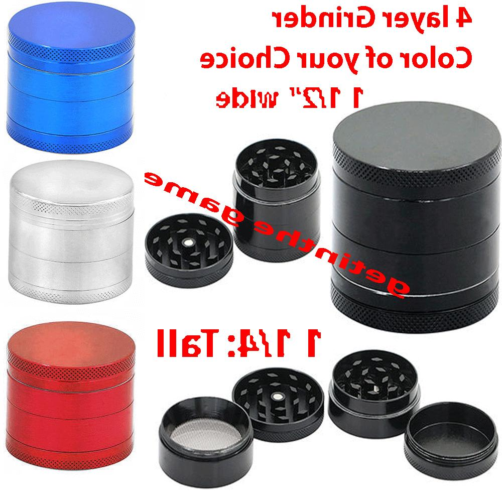 tobacco grinder herb spice mini crusher hand