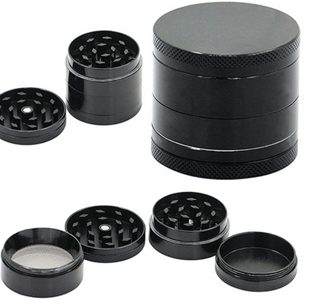 Tobacco Grinder MINI Crusher Hand Muller Smoke 4 Metal