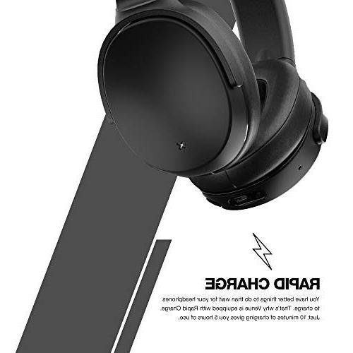 Skullcandy Wireless Active Cancelling Headphones - Black