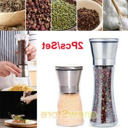 lot premium stainless steel salt and pepper