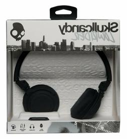Skullcandy Lowrider Headphones w/Mic Black/Black/Black, One
