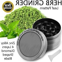 new 4 piece herb grinder spice crusher