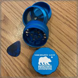 New! Cali Crusher Homegrown Herb Grinder / 4 Piece STANDARD