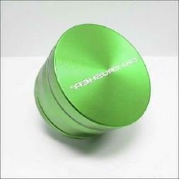 "Cali Crusher OG Hard Top 4 Piece GREEN Herb Grinder 2.5"" AUT"