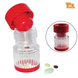 Pill Crusher Grinder Make Fine Powder of Large Hard To Swall