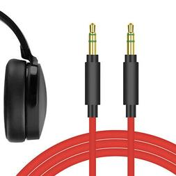 Geekria QuickFit PLUS Cable for Skullcandy Hesh 3, Hesh, Cru