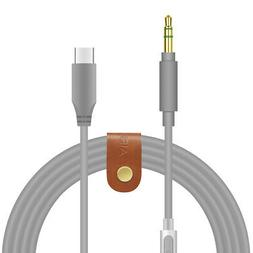 Geekria QuickFit USB-C Cable for Skullcandy Hesh3 Crusher Ve