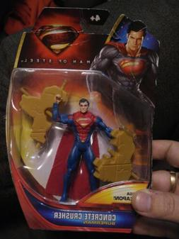 Rare Superman Man Of Steel Concrete Crusher 4 Inch Figure