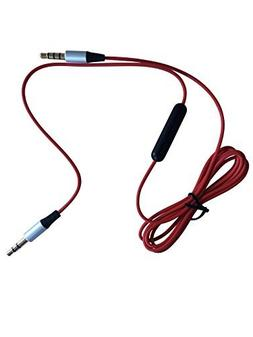 Red Skullcandy® 1.2m Replacement Audio Cable for Skullcandy