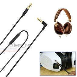 NEW Replacement audio cable with mic remote line for Crusher