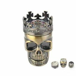 Skull Tobacco Grinder Herb Spice Crusher Accessories Hand Mu