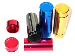 SET of 4 Smart Brand Aerospace Airtight Cylinder Stash Case