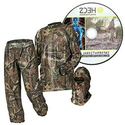 Human Energy Concealment System Suit Realtree Xtra Camo Larg