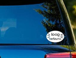 "T1106 GOAL CRUSHER Decal - 4.00"" x 6.00"" - Easy to Apply - I"