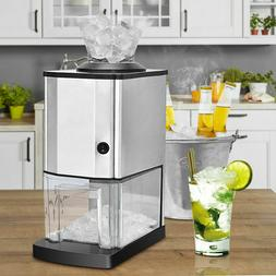 Tabletop Electric Stainless Steel Ice Crusher Shaver Machine