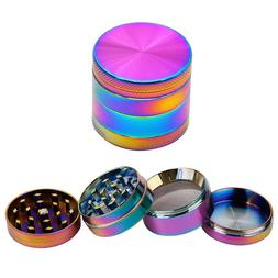 TECHTONGDA 4 Layers 40mm Colorful  Herb Grinder Crusher Grin