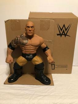 """THE ROCK- WWE Wrestling 3-Count Crushers 14"""" Action Figure"""