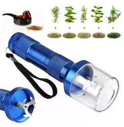 us aluminum electric grinder crusher herb spice